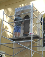 Okná počas obnovy