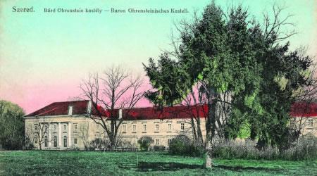 Vodný hrad - dobové pohľadnice