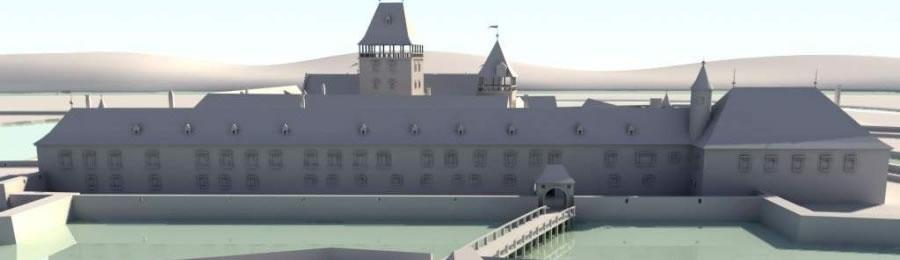 Vodný hrad - vizualizácie
